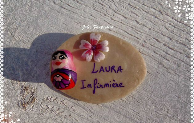 Badge pour Laura !