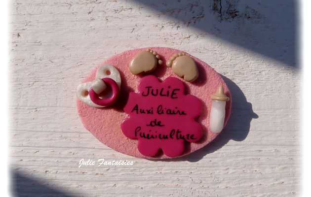 Badge pour Julie !