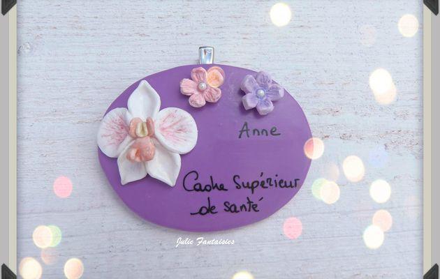 Badge pour Anne