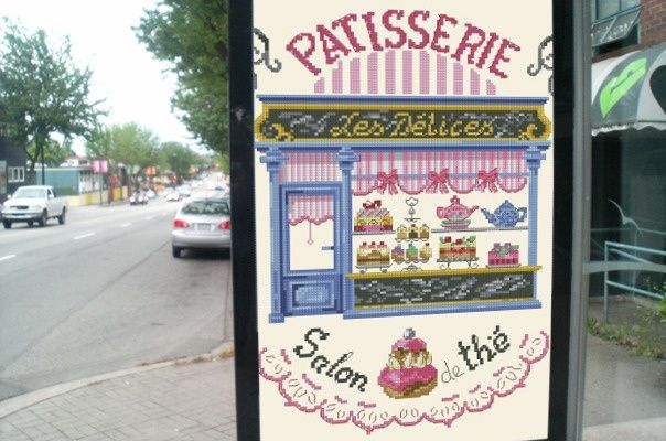"SAL ""LA PATISSERIE / SALON DE THE"" 1er OBJECTIF TERMINE"