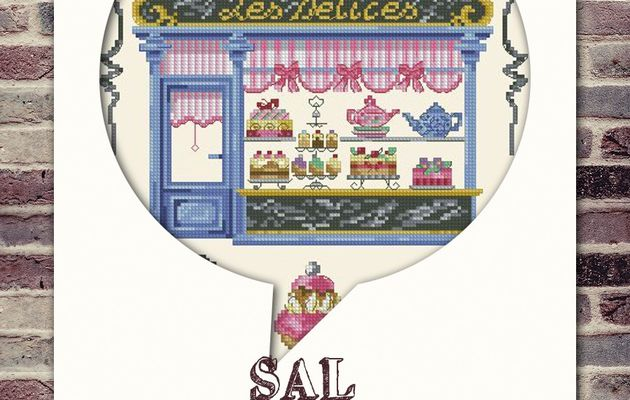 "SAL ""LA PATISSERIE / SALON DE THE"" 7ème OBJECTIF TERMINE"