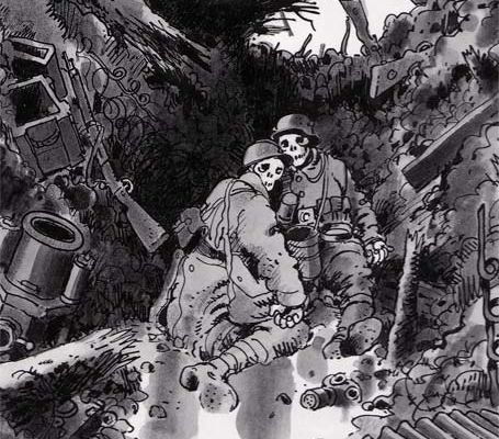 La guerre en question