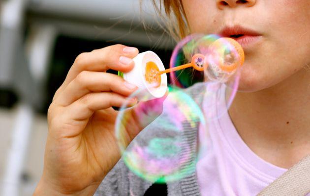 Qu'est-ce qu'il y a dans une bulle ?