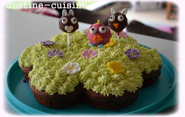 Gâteau d'anniversaire Animaux