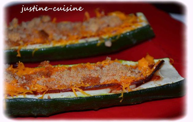 Courgette'pizza