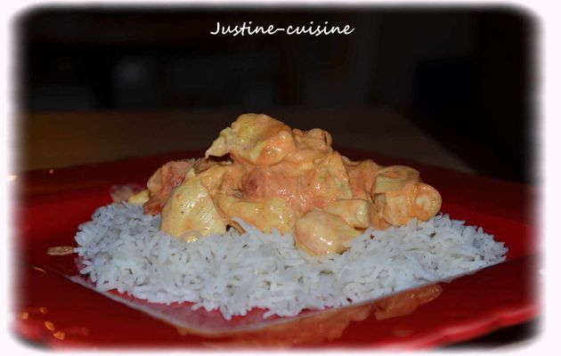 Poulet Coco/Curry et tomate