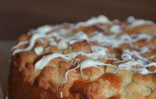 Crumble cake aux framboises et photos ^^