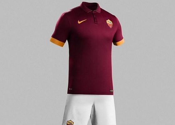 MAILLOTS 2014-2015 : L'AS ROME, UNE TUNIQUE GRIFFEE NIKE