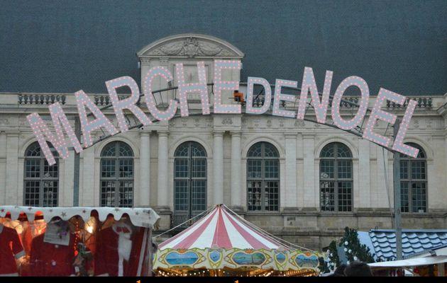 Marché de Noël Rennes 2015