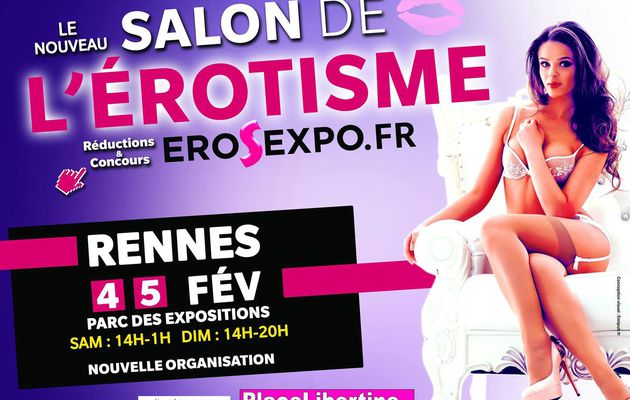 Evenements en bretagne for Salon de l erotisme 2017