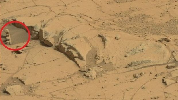 FEU TRICOLORE SUR MARS: PHOTO