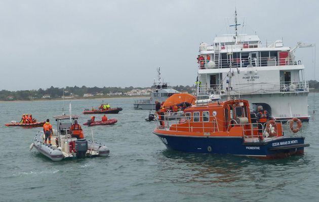 Plan Orsec Maritime - Exercice 2014 en Vendée