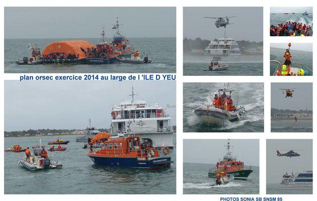 Exercice Orsec 2014 en Vendée