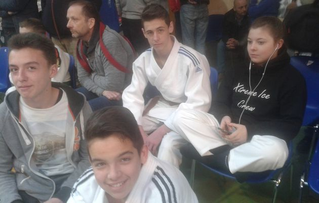 13ème Open international Judo Tori à JODOIGNE (Belgique) le 09/04/16