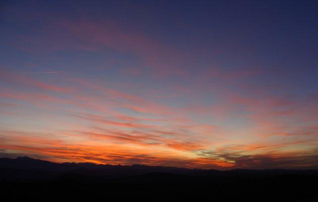Pyrénées : lumières du soir