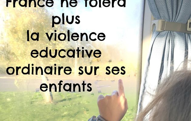 La France interdit enfin la fessée