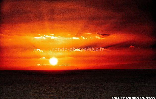 Couché de soleil  Arona