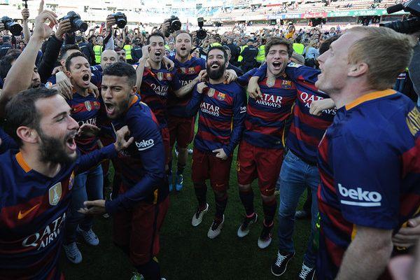 Liga BBVA (J38) | Granada CF 0-3 FC Barcelone: ¡ Campeónes Campeónes !