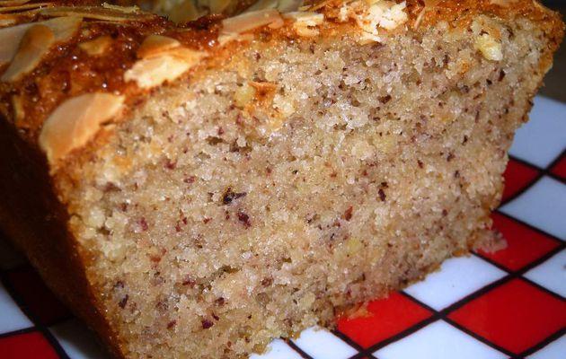 Cake financier aux amandes et noisettes