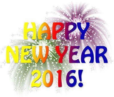 Bonne année les loulous!