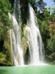 A proximité de Lorgues, trois magnifiques cascades.