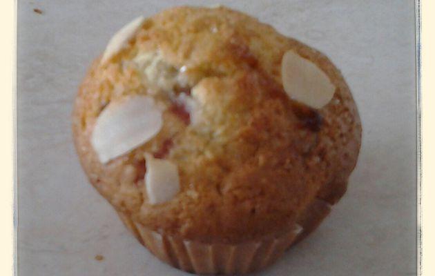 Muffins fraise chocolat au kitchenaid ou thermomix