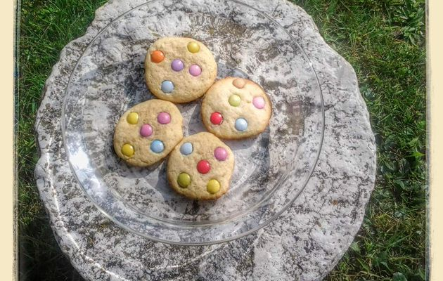 Cookies aux smarties au thermomix