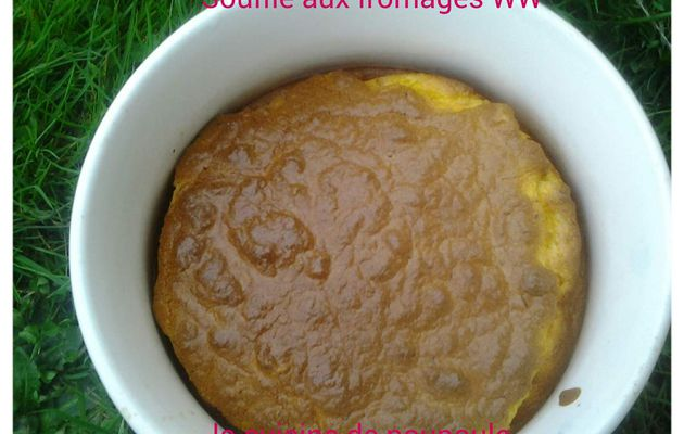 Soufflé aux fromages Weight Watchers au thermomix ou kitchenaid