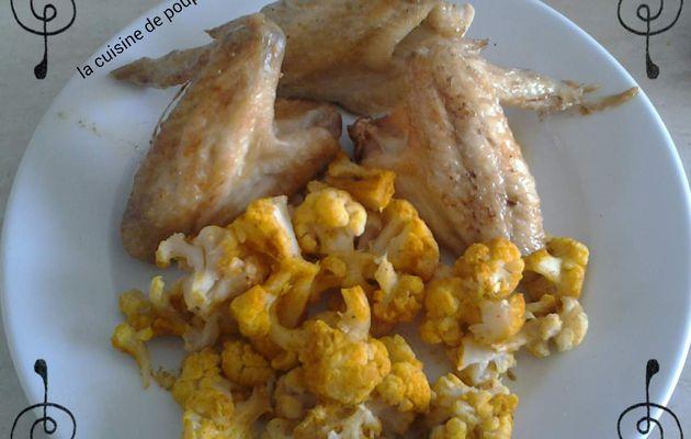 Ailerons de poulet citron paprika