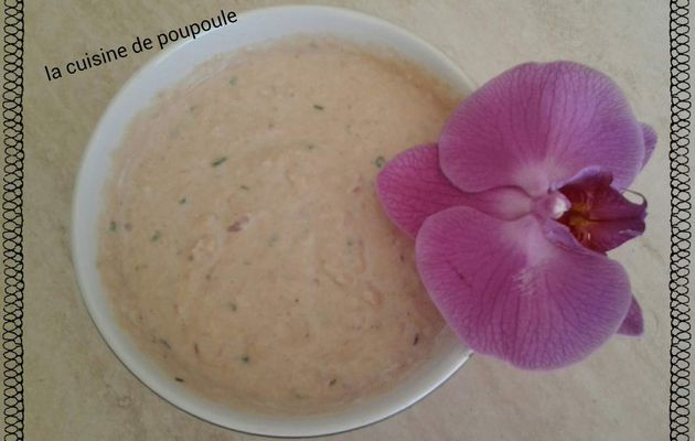 Rillette de thon aux fromages WW au thermomix