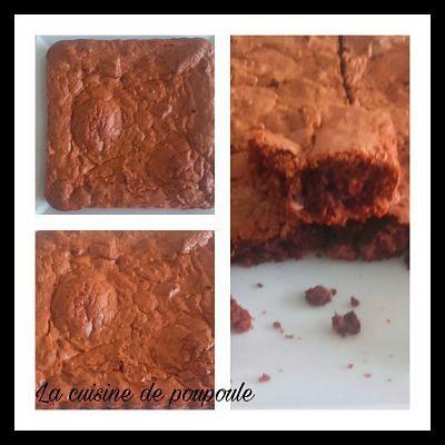 Brownie aux noisettes au thermomix ou sans