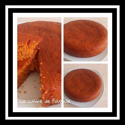 Gâteau au sucre de fleur de coco au thermomix ou sans