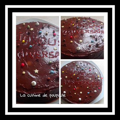 Gâteau chocolat fruits rouges au thermomix ou sans