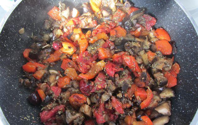 Clafoutis aux aubergines