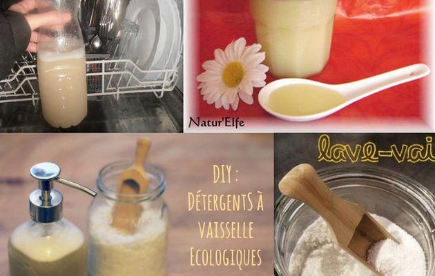 Faire son produit nettoyant pour lave vaisselle
