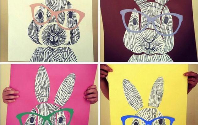 Dessiner un lapin graphisme, le tutoriel