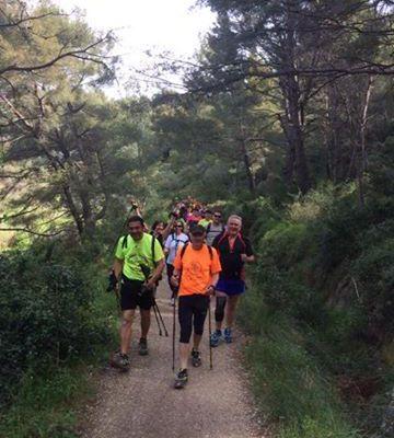 65 amicalistes au « courir au naturel » de Castillon