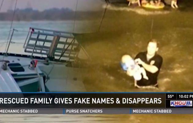 Mystère - saine et sauve, une famille de naufragés disparaît en laissant un faux nom