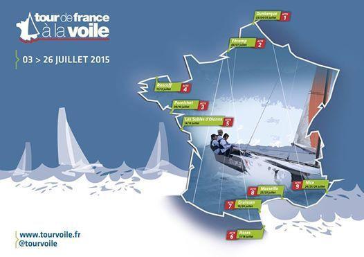 Les Directs du Nautic 2014 - une trentaine de bateaux sur le  Tour de France à la Voile 2015