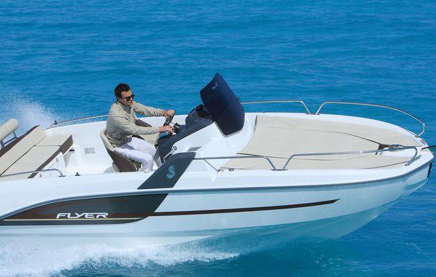 European Power Boat of the Year 2015 - le Bénéteau Flyer 6, bateau à moteur de l'année (-25 pieds)