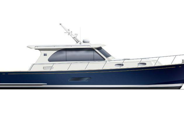 Grand Banks annonce un nouveau modèle de yacht, l'Eastbay 44