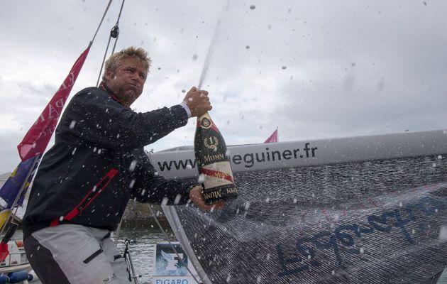 Yann Eliès remporte sa troisième Solitaire du Figaro à Dieppe