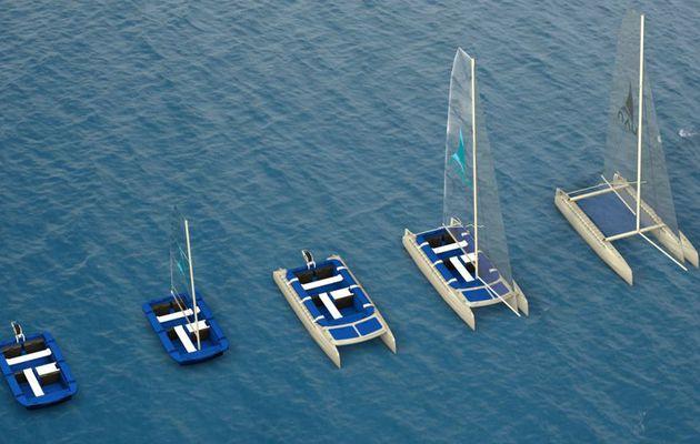 5 bateaux en 1 pour NAU, le premier bateau transformable dévoilé au Nautic