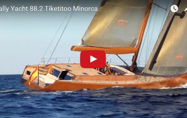 VIDEO - 4.44 minutes de Bonheur à bord du Wally Tiketitoo