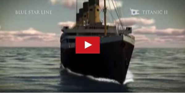 VIDEO - le lancement du Titanic II prévu pour 2018