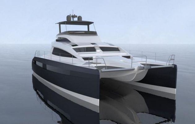 Privilège Marine signe la vente de son premier catamaran motoryacht Euphorie 5