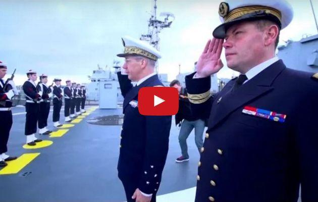VIDEO - La Marine Nationale a réceptionné sa troisième Fremm, la Languedoc