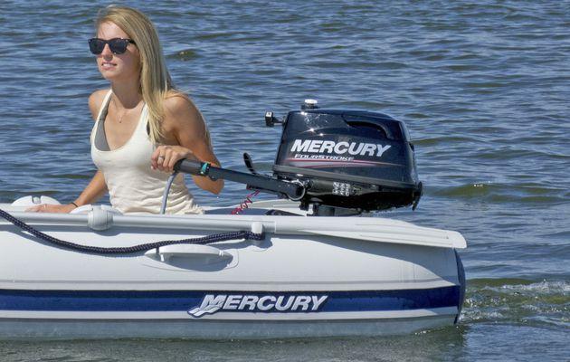 Promotion sur les moteurs hors-bord transportables chez Mercury