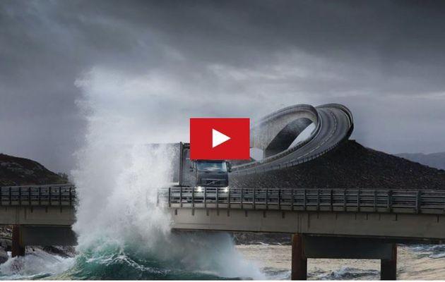 VIDEO - la route côtière la plus dangereuse d'Europe, en Norvège