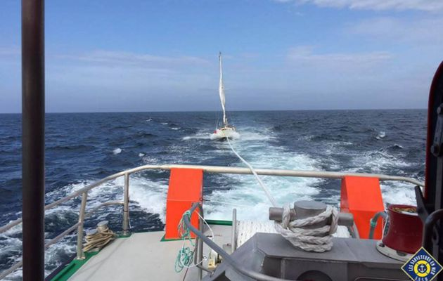 Un cargo percute un voilier au large de l'île de Sein et s'enfuit